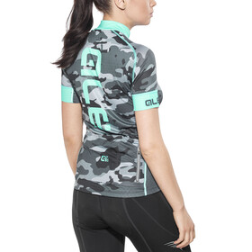 Alé Cycling Graphics PRR Camo SS Jersey Women black-turquoise
